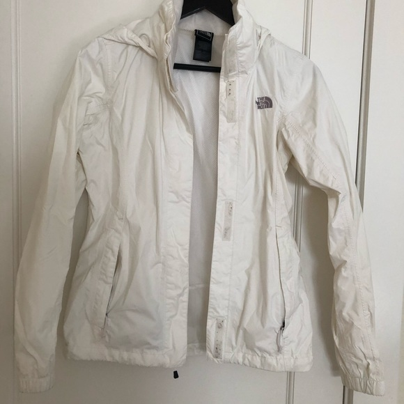 The North Face Jackets & Blazers - North face wind sheetlet in size XS, white